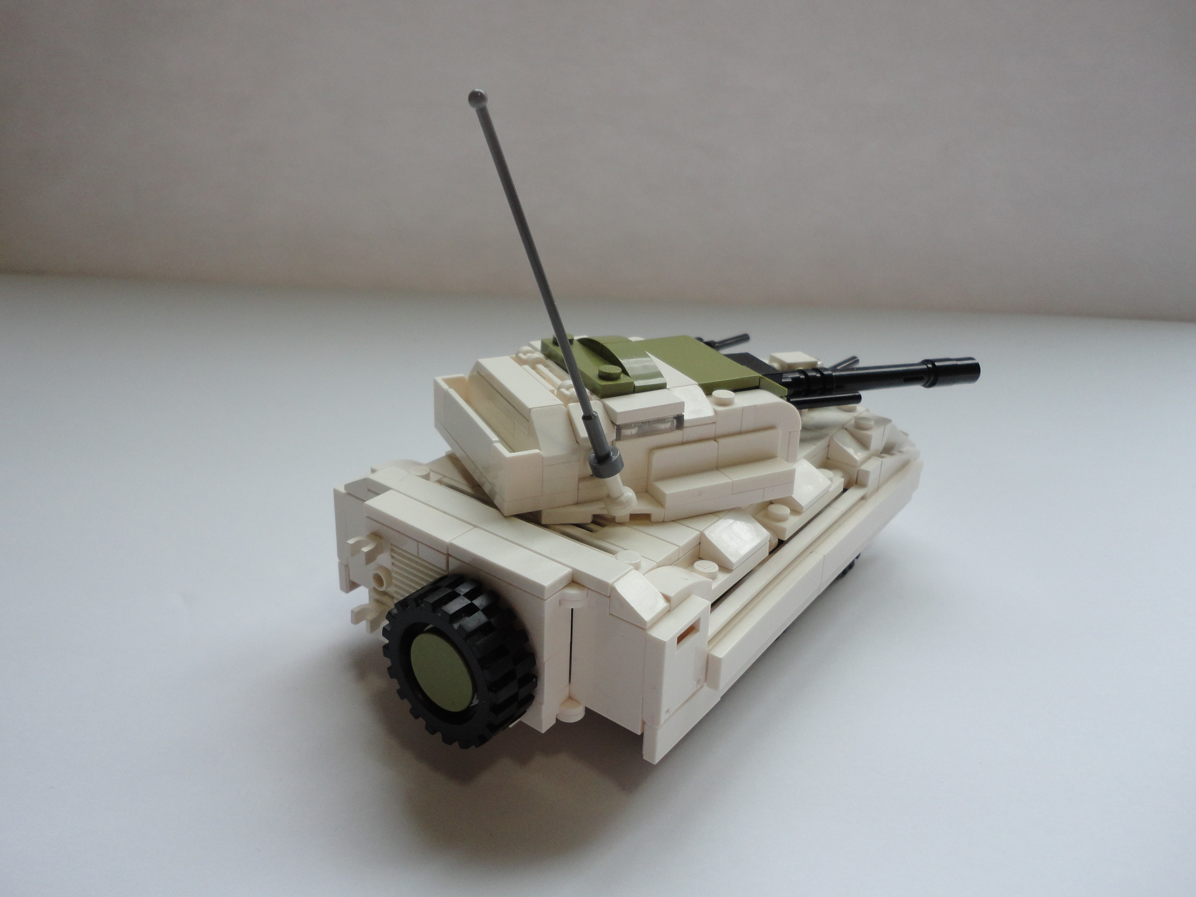 GI Joe Vehicle Battle Force 2000 Dominator Front Big Gun 1987 Original Part