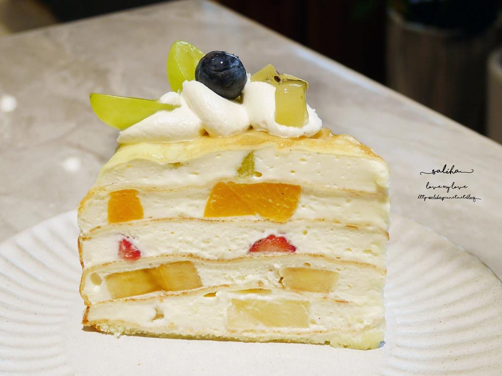台北大安區麗水街好吃蛋糕下午茶咖啡廳甜點推薦松薇食品PINEROSE (2)
