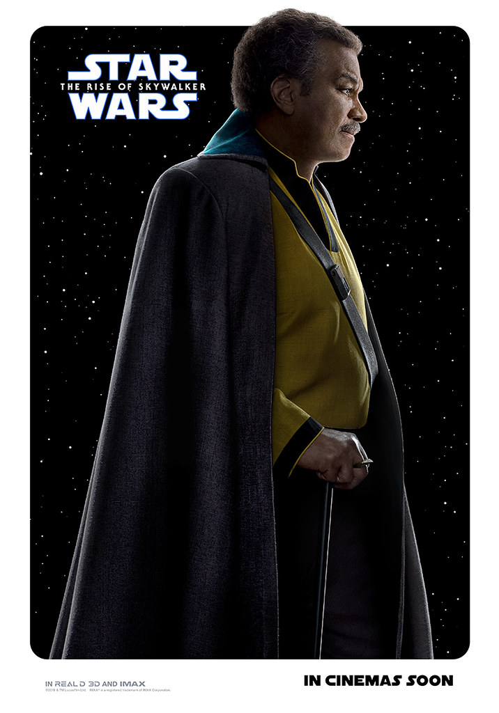 Character posters for STAR WARS: THE RISE OF SKYWALKER