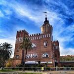20. November 2019 - 9:30 - Barcelona. Castell dels tres Dragons. 1887-88. Lluís Domènech I Muntaner. Modernista.