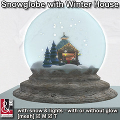 Snowglobe with Winter House
