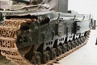 Black Prince (A43) Tank Track