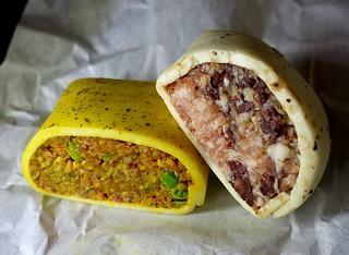 Bombay Pork and Pork & Black Pudding Slices
