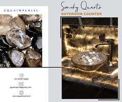 Luxurious Handcrafted smoky Quartz