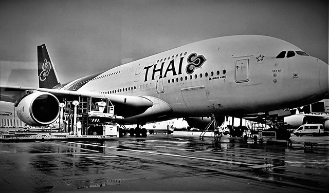 Thai A380 Airbus.