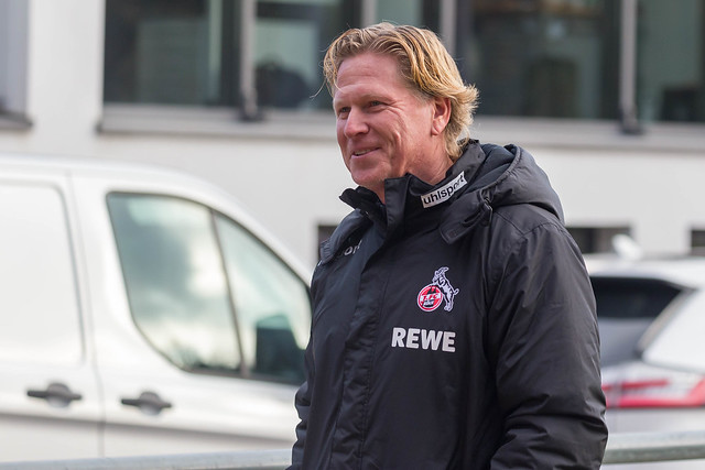 Der neue Mann am Geißbockheim in Köln Markus Gisdol