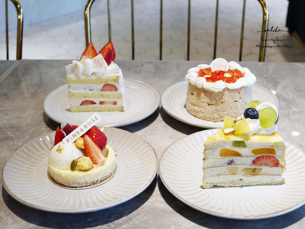 台北麗水街永康街東門站必吃甜點下午茶咖啡廳松薇食品PINEROSE (1)