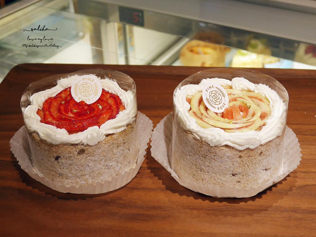 台北東門站壽星優惠甜點蛋糕好吃下午茶咖啡廳松薇PINEROSE (4)