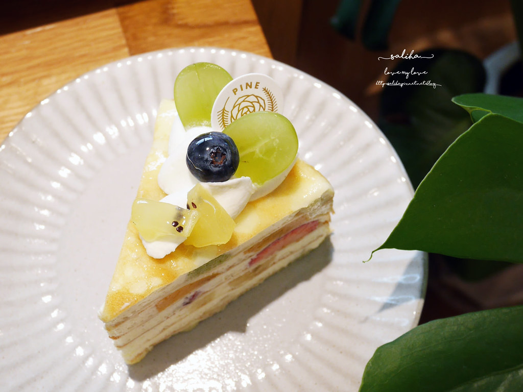 台北好吃千層蛋糕推薦必吃IG甜點松薇食品PINEROSE東門站永康街下午茶 (3)
