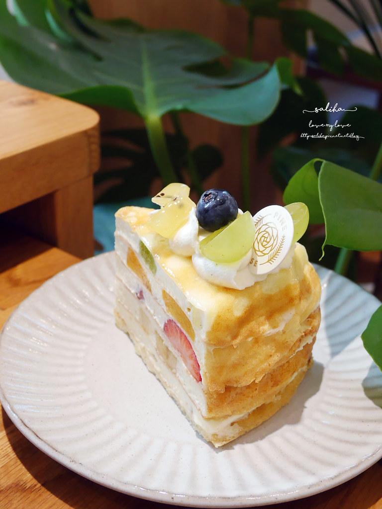 台北好吃千層蛋糕推薦必吃IG甜點松薇食品PINEROSE東門站永康街下午茶 (1)