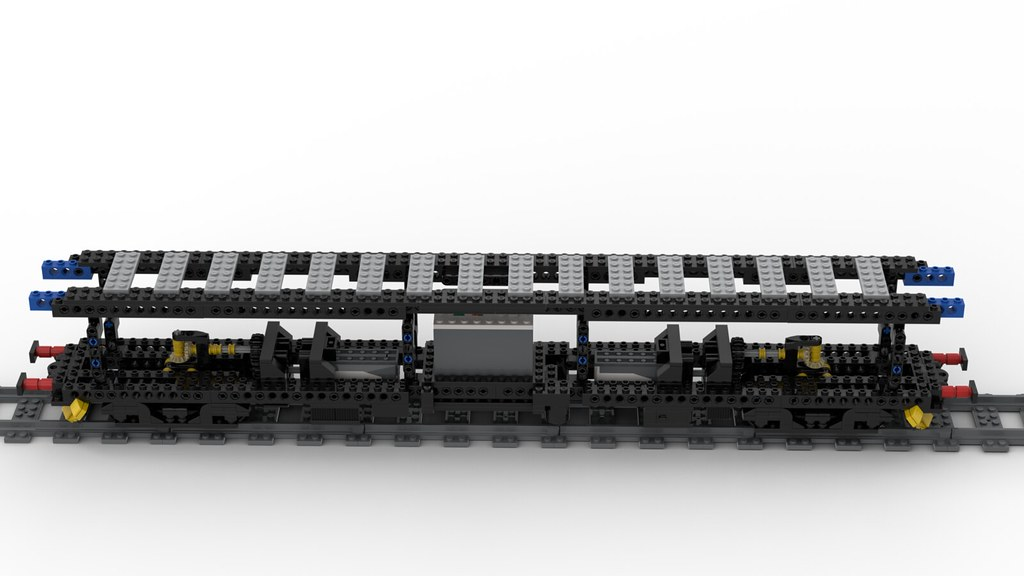 Lego ALn668 - CEVA-ORMEA 1:38 - CHASSIS V1