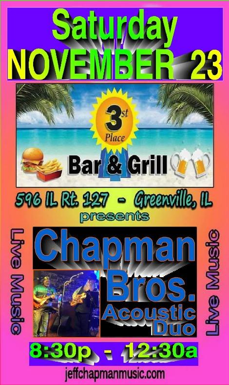 Chapman Bros 11-23-19
