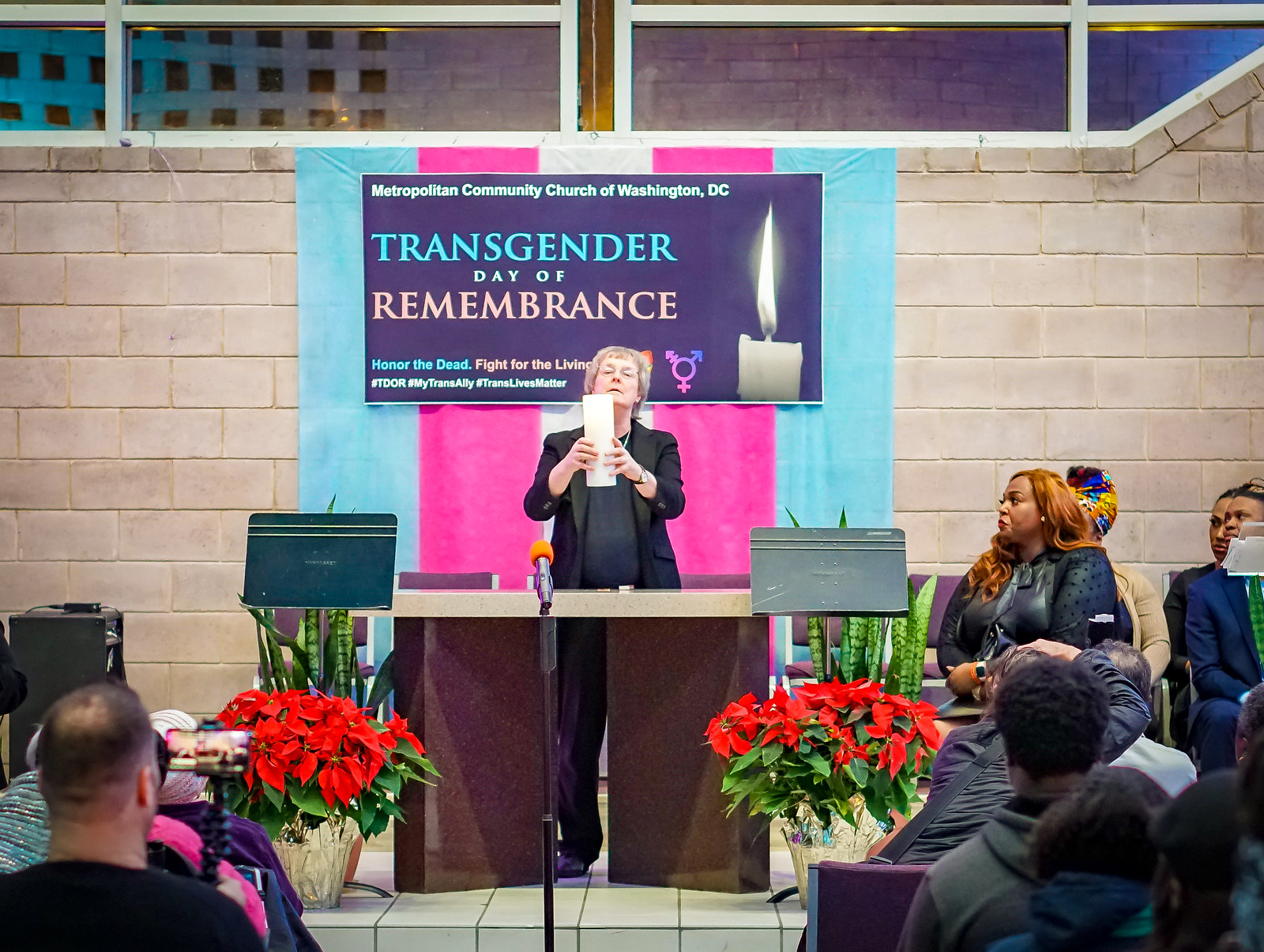 Photos: 2019 International Transgender Day of Remembrance, Washington, DC USA