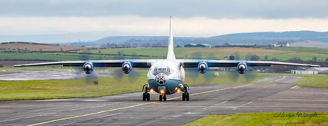 Cavok Air Antonov - BP12 (UR-CBG)