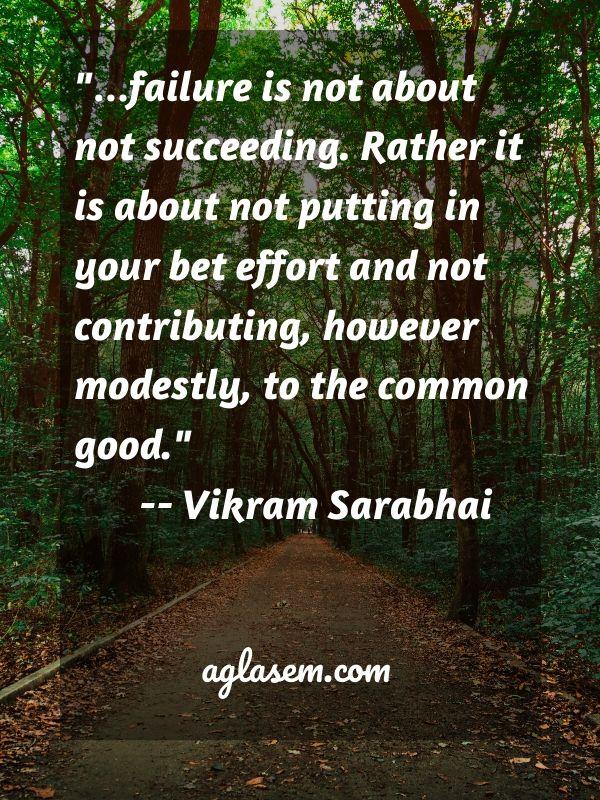 Educational Quote by Vikram Sarabhai