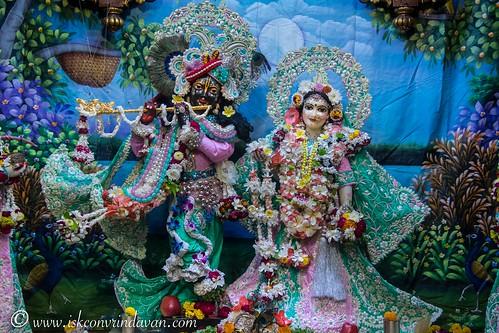 ISKCON Vrindavan Deity Darshan 21 Nov 2019