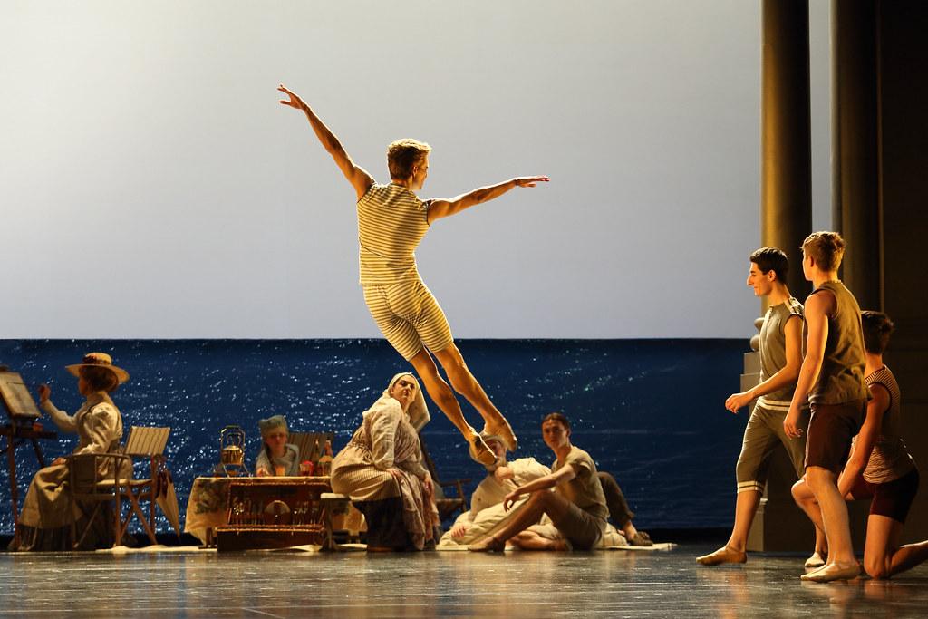 Leo Dixon as Tadzio in Death in Venice, The Royal Opera ©2019 ROH. Photograph by Catherine Ashmore