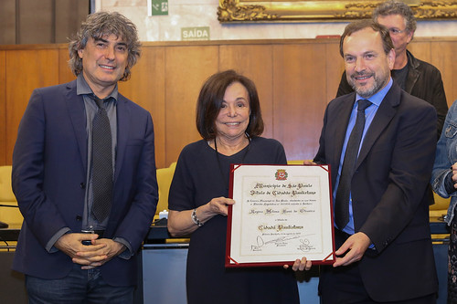 Giannazi entrega Título de Cidadã Paulistana a Regina Boni