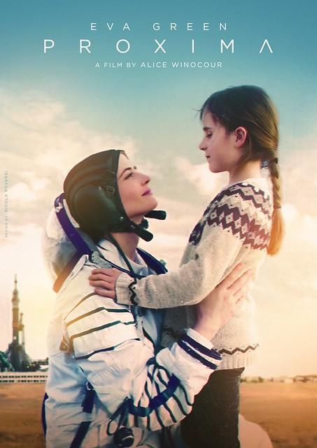 "The movie poster & stills of movie ""Proxima"" (2019) , Taipei Golden dragon film festival, Nov, 2019"