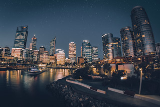 Perth City - 8mm Fisheye