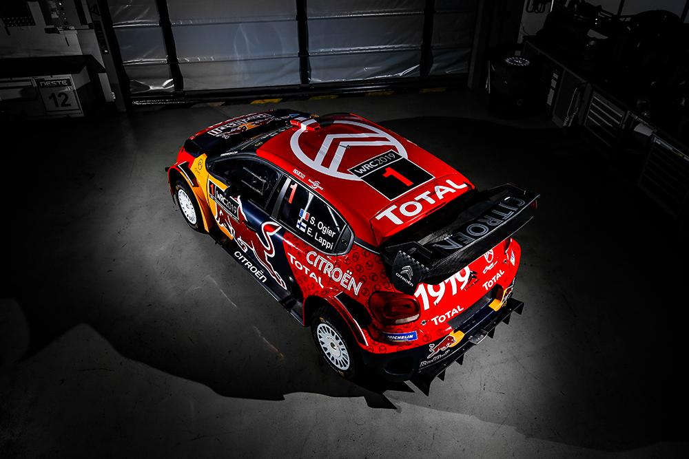 C3 WRC NEW LIVERY 2019