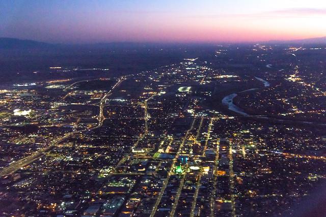 Landing in Albuquerque