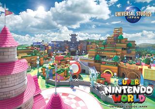 日本環球影城任天堂主題區『SUPER NINTENDO WORLD™』最新視覺圖公開,目標 2020 東京奧運前開幕!