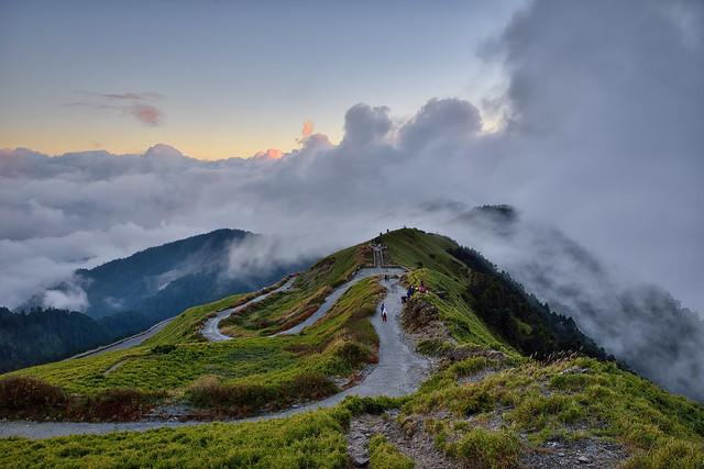 Mountain Hehuan ,合歡山