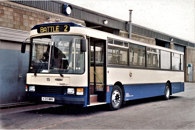 Estbourne Buses No.15 at The Depot.