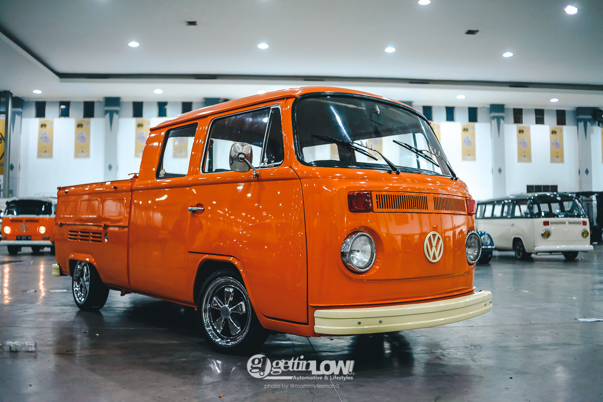 VW type 2 T2 Double Cabin