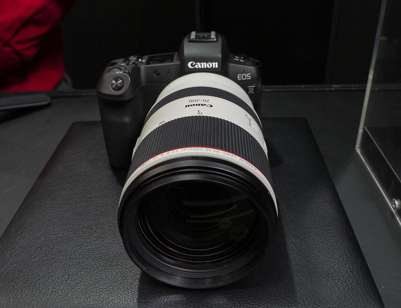 今日から発売:RF70-200mmF2.8L IS