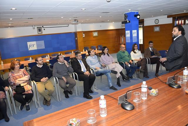 Imagen del encuentro anual de los gabinetes de Prevención de Riesgos Laborales de CEOE en los que participa CONFAES.