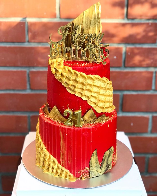 Traditional Chinese Theme Cake from Caked by Seraphina