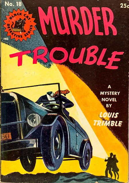 Black Cat Detective Series No. 18, Crestwood Publishing (1945). Digest size. Uncredited Cover Art