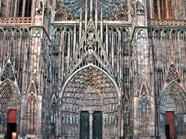 Strasbourg, Cathédrale Notre-Dame-DSC_5264p