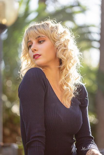 Marika in a sunny day