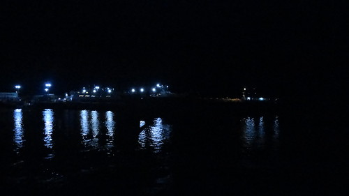 Ozamis port at night