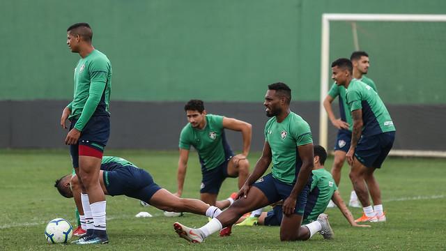 Treino do Fluminense - 21/11/2019