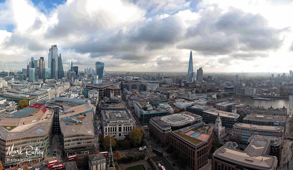 PANORAMA VIEW FROM ST PAULS