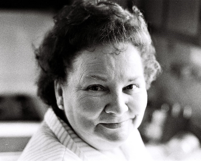 Portrait of a lady, 1974, Catonsville, Maryland
