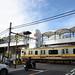 E233 Series Train and Railroad Crossing at the End of Nanbu Line Kashimada Station 7