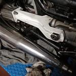 Forcellone posteriore Guzzi V50