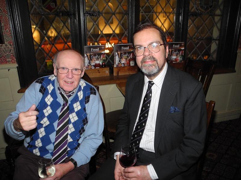 Ron Smart and Richard Steedman.