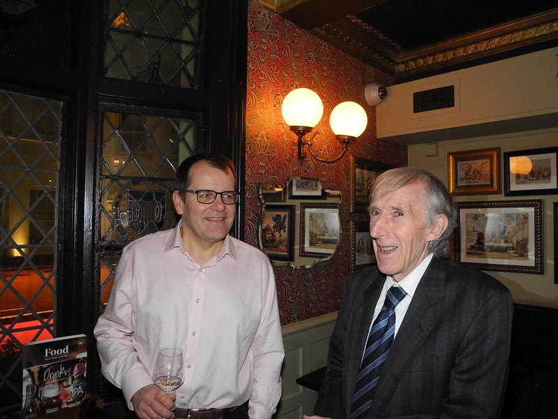 Eric Steedman and Gordon Burt.