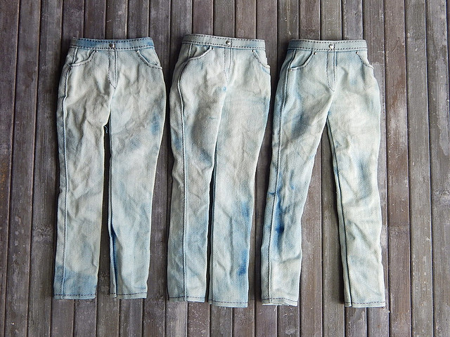 Be the man - light blue jeans variations