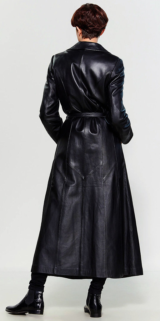 Long leather coat | andy lee | Flickr