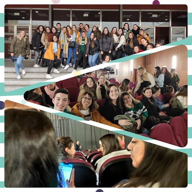 Visita al Teatro en la ESAD de Málaga