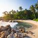 Secret beach Mirissa, Sri Lanka by TeunJanssen