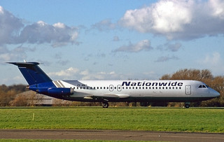 ZS-NMT BAC 1-11 518FG Nationwide Airlines