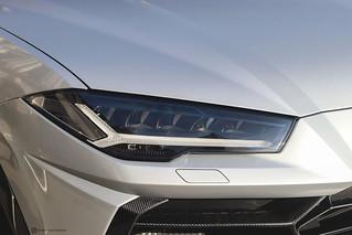Lamborghini Urus akrapovic racing exhaust - Paris the 20th of November, 2019
